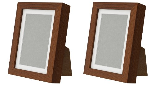 New ikea ribba 5x7 picture frame wood grain set of 2 for Ikea ribba plank