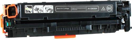 Black Compatible HP 304A / CC530A Toner Cartridge Compatible with HP Color LaserJet CM2320fxi, Color LaserJet CM2320n, Color LaserJet CM2320nf, Color LaserJet CP2025dn, Color LaserJet CP2025n, Color L