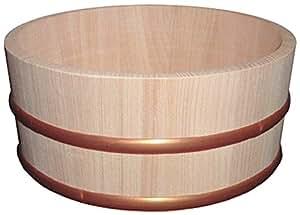 木曽工芸 タガの落ちない湯桶