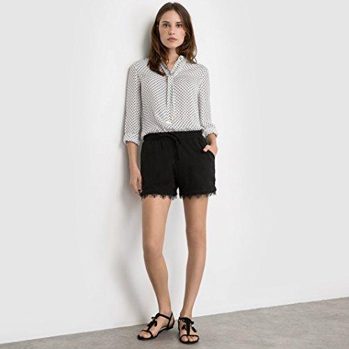 Ichi 20100887 Shorts Donna Nero L