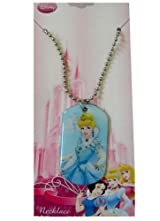 Disney Princess Cinderella Charm Necklace - Cinderella Necklace - Blue