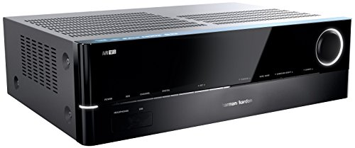 Harman Kardon AVR 161S 425 Watt 5.1-Kanal Audio Video Receiver 5 x 85 Watt mit 5 x HDMI Internetradio DLNA 1.5 USB und Bluetooth Konnektivität - Schwarz