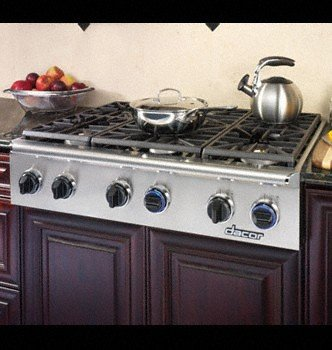"""Discovery Eg486Schlph 48"""" Slide-In Gas Rangetop With Illumina Burner Controls Continuous Grates 6 front-519002"""