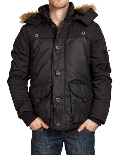 Timezone Herren Jacke Regular Fit 29-0115 Jacket, Gr. 54 (XXL), Schwarz (black 999)