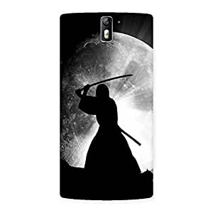 Moon Warrior Back Case Cover for One Plus One