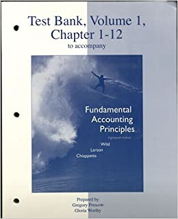 chapter 1 test bank accounting Advanced accounting fischer taylor cheng 11e test bank chapter 21.