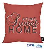 HOME SWEET HOME DESIGN RED CUSHION 18