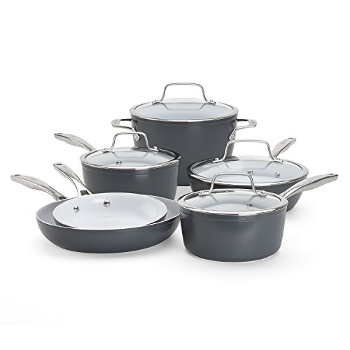 Bialetti Aeternum Signature 7308 10 Piece Cookware Set