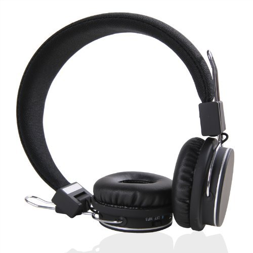 Metroeb Hi-Fi Stereo Handsfree Headset 4X Noise Canceling Wireless Bluetooth Headphone Headset Tf Card For Mp3,Cell Phones, Apple Iphone 5, Ipod, Ipad, Note & More A2Dp Enabled Smartphones