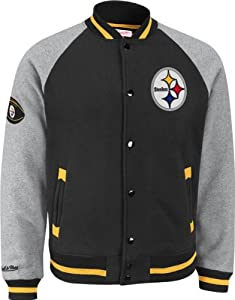Pittsburgh Steelers Mitchell & Ness Competitor Vintage Premium Jacket by Mitchell & Ness