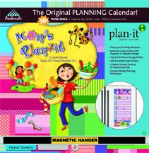 Mom's Plan-it 2013 Wall Calendar