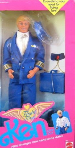 Flight Time Ken 1989 als Weihnachtsgeschenk