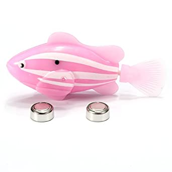 2013 Robo Fish nage poisson robot 4 pile robofish Neuf Comparer les Prix 2