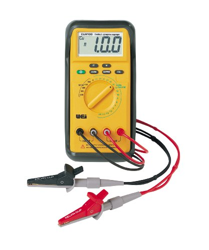 Cable Length Measuring Equipment : Uei test instruments clm cable length meter