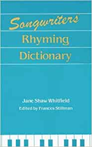 best rhyming dictionary for songwriters