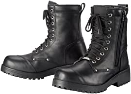 Tourmaster Coaster Wp Boot Blk
