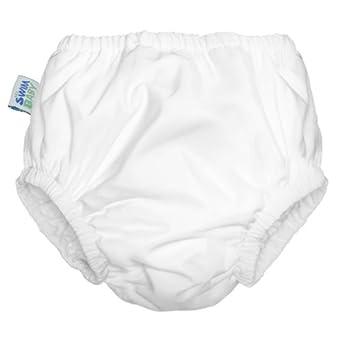 My Swim Baby Swim Diaper - White - 3T