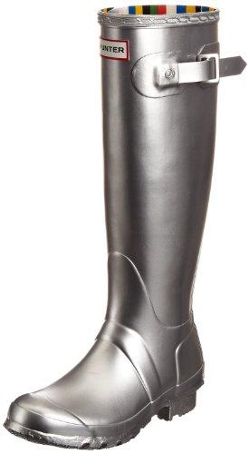 Hunter Unisex-Adult Original Great Silver Wellington Boot W24568 4 UK