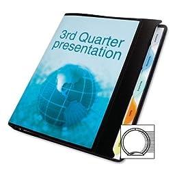 View-Tab® Round Ring Presentation Binder, 5-Tab Style, 5/8\