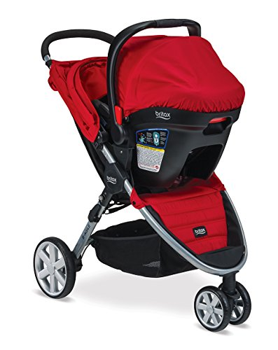 Britax B-Agile 3/B-Safe 35 Travel System, Red