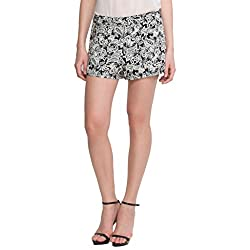 Oxolloxo Monochrome Floral Shorts