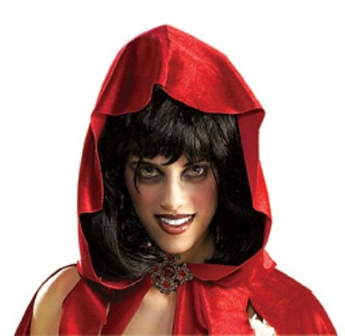 Rubie's Costume Lil Dead Riding Hood Wig, Brown, One Size