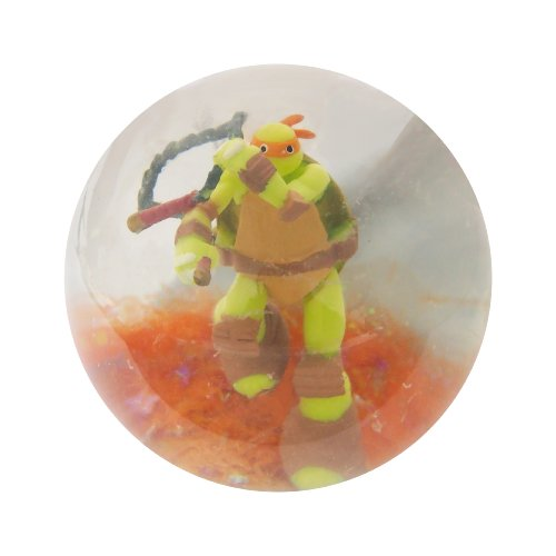 TMNT Ninja Action Balls (Figure Inside)-Michelangelo - 1