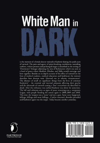 White Man in Dark