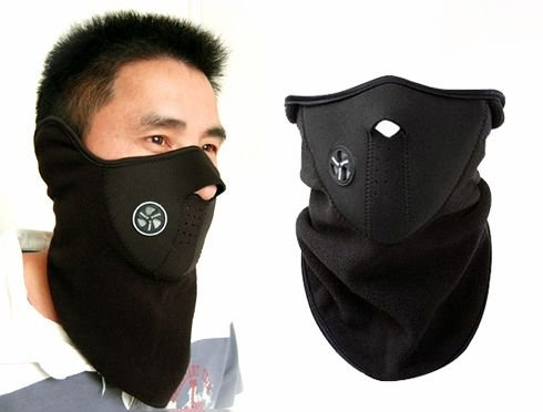 WMA Neoprene Neck Warm Face Mask Veil Sport Motorcycle Ski