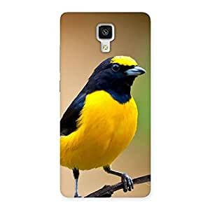 Ajay Enterprises yellow small bird Back Case Cover for Xiaomi Mi 4