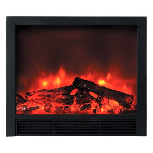 Yosemite Home Decor Df-Efp765 Widescreen Floor Standing Electric Fireplace, Black