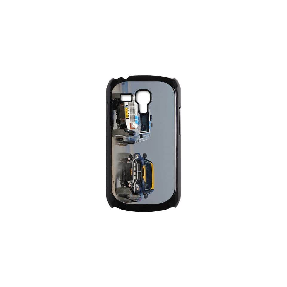 Fashion Custom Mobile Hard Back Case Car Picture Design For Samsung Galaxy S3 Mini i8190 Case Jeep Cherokee Dodge Ram 2500 NK Off Road Velsen/Black Shell