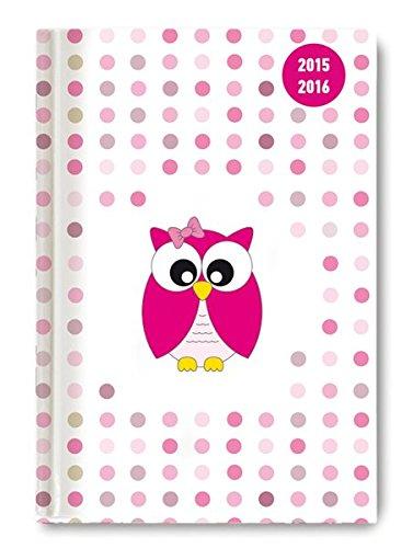 Collegetimer Pink Owl 20152016 Schülerkalender A5 Day By Day 352 Seiten PDF