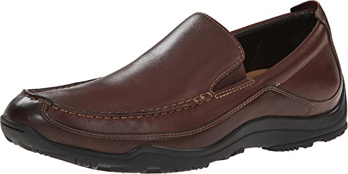 Cole Haan MEN'S Nike Air Hughes Venetian II Loafers DARK BROWN LEATHER SHOES (7.5) (Cole Haan Air Nike Men compare prices)