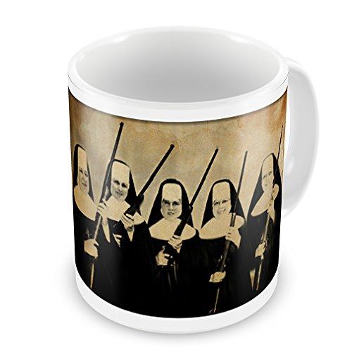Coffee Mug Nuns With Guns Vintage - Neonblond