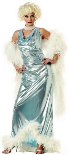 Silver Screen Goddess Marilyn Costume- Small