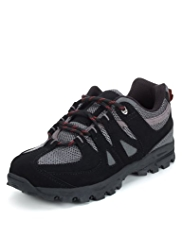 Lace Up Mesh Trekker Trainers