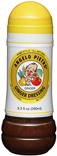 Angelo Pietro New Ginger Dressing, 9.3 Ounce (Pasta Salad Dressing compare prices)