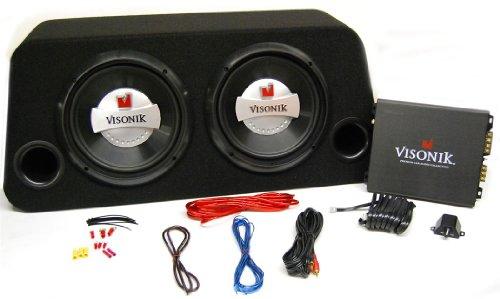 Visonik VB210PKG 800W Complete Package w Subs, Amp, Box