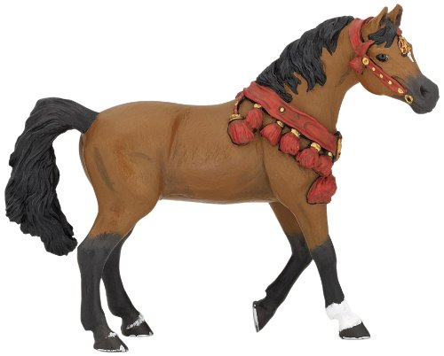 Papo Arabian Horse Figure in Parade Dress