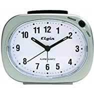 Geneva Clock Company 3640E Quartz Analog Battery Operated Alarm Clock