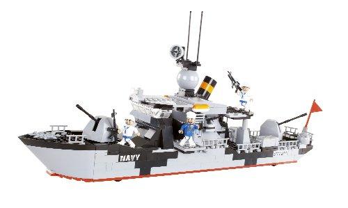 samll-army-marina-militare-barca-battaglia-mattoni-da-costruzione-di-cobi