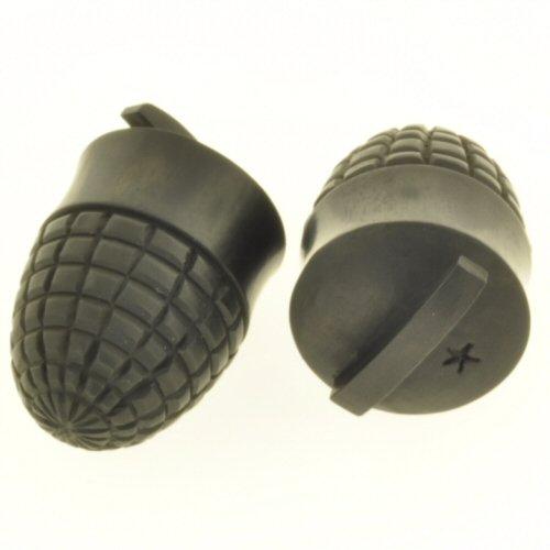 Pair of Arang Wood Grenade Plugs: 1