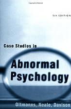case studies in abnormal psychology gorenstein