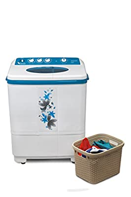Hyundai HYS72F Semi-automatic Top-loading Washing Machine (7.2 Kg, Luminous Blue)
