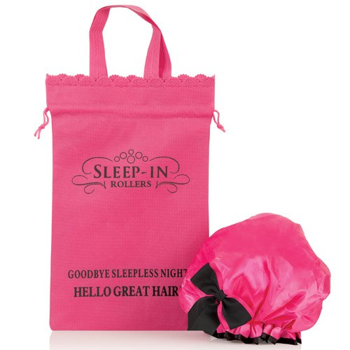 Sleep-In Shower Cap Rulli personalizzati