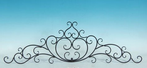 decorative wrought iron metal wall plaque - Wrought Iron Wall Decor
