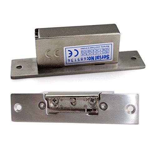 Wooden,Metal Door Etc Adjustable Lock-Tongue To No Stype 600Kg Holding Force Electric Strike Door Lock Narrow-Type Electric Lock