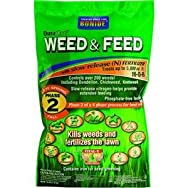 Bonide604205M Lawn Fertilizer with Weed Killer-5M WEED & FEED