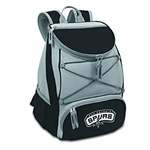 NBA San Antonio Spurs PTX Insulated Backpack Cooler by Picnic Time